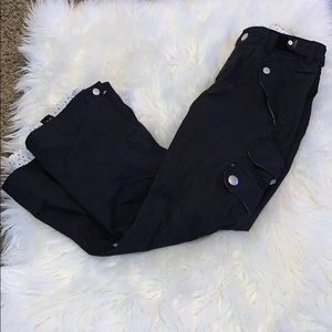 Roxy 10000 Black ski snowboard pants EUC XS